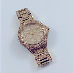 Michael Kors Camille Crystal GoldTone Watch MK5720